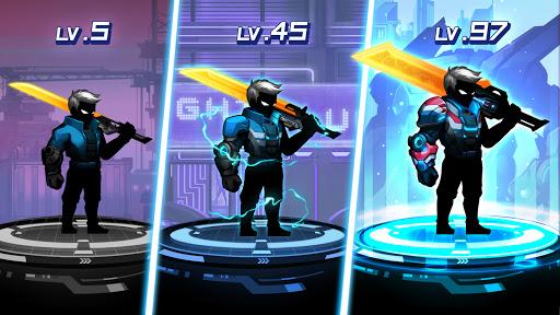 Cyber Fighters: Cyberpunk Stickman Impact Fighting screenshots 3