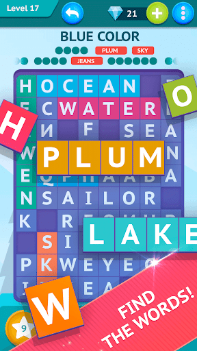 Smart Words - Word Search, Word game screenshots 1