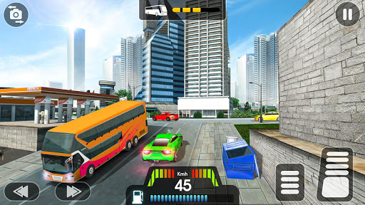 City Coach Bus Simulator 2021 - PvP Free Bus Games  screenshots 9