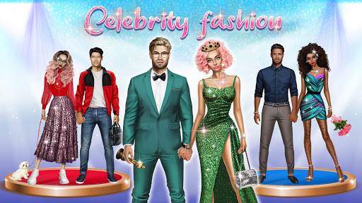 Celebrity Fashion Makeover - Dress Up Games 1.1 screenshots 1