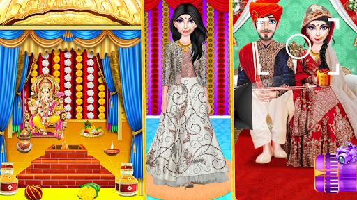 Indian Wedding Girl - Makeup Dressup Girls Game 1.0.3 screenshots 3