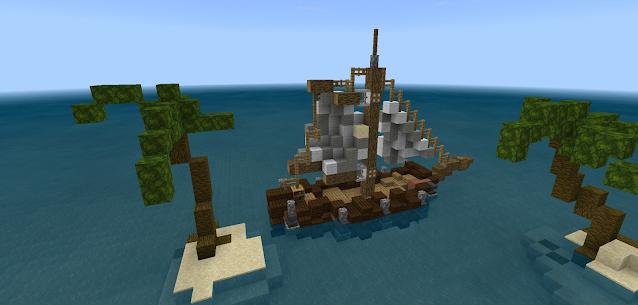 Mapas para Minecraft PE: skyblock survival 4