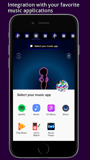 Disco Light: Flashlight with Strobe Light & Music 4.5 Screenshots 4