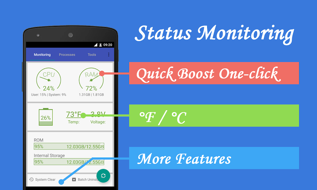 Assistant Pro for Android - Cleaner & Booster  poster 0