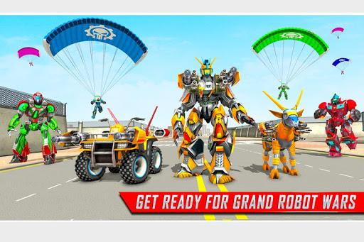 Goat Robot Transforming Games: ATV Bike Robot Game 1.5 screenshots 1