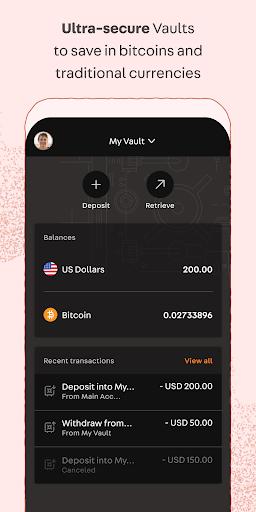 xapo piniginė bitcoin