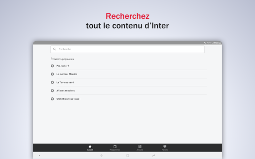 France Inter - radio, podcasts, actu 6.0.0 screenshots 11