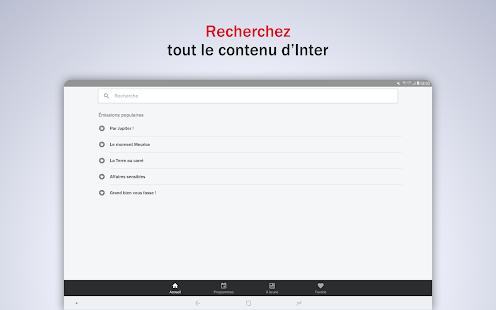 France Inter - radio, podcasts, actu  Screenshots 17