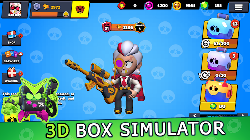 Box Simulator Brawl Stars - Loot 3D skin  screenshots 6