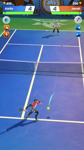 Télécharger Gratuit Tennis Clash: 3D Sports - Jeux Gratuits APK MOD (Astuce) screenshots 1