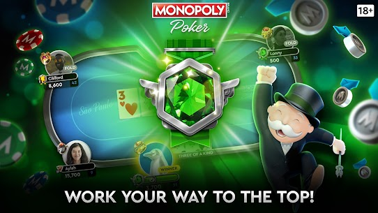 MONOPOLY Poker – The Official Texas Holdem Online 6
