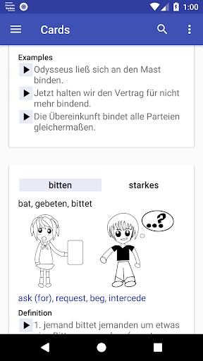Deutsche Verben screenshots 5