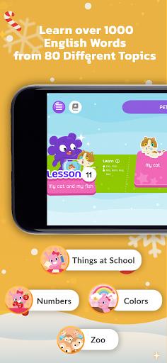 Learn English for Kids by Galaxy Kids 3.1.2 screenshots 2