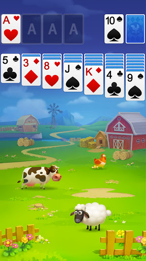 Solitaire - My Farm Friends 1.0.2 screenshots 1