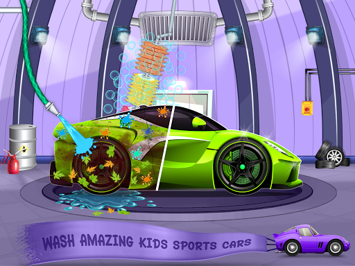 Kids Car Wash Service Auto Workshop Garage 2.1 screenshots 12