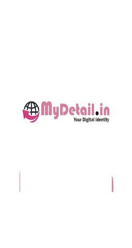 DIGITAL VISITING CARD  - One page website  screenshots 1