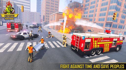 Firefighter Games : fire truck games 1.1 screenshots 2