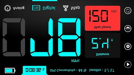 GPS Speedometer : Odometer and Speed Tracker App 7