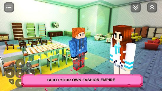 Girls Craft Story: Build & Craft Game For Girls screenshots 1