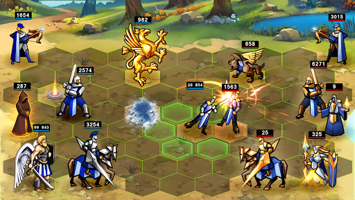 Heroes Magic War apkmartins screenshots 1