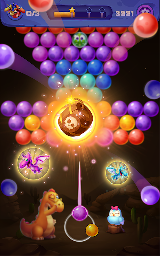 Bubble Shooter: Primitive Dinosaurs - Egg Shoot 1.04 screenshots 5