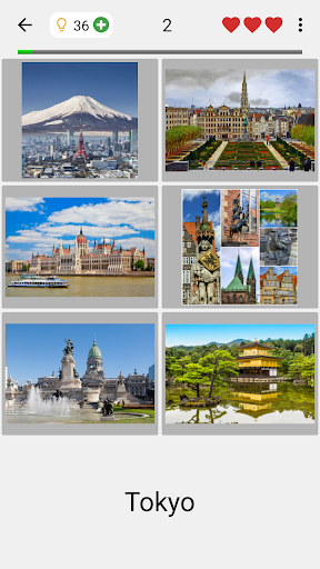 Cities of the World Photo-Quiz - Guess the City screenshots 2