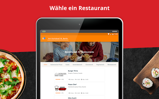 LIEFERHELD | Order Food  screenshots 7