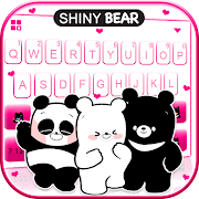 Shiny Bear Keyboard Theme