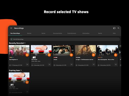 Zattoo - TV Streaming App apktram screenshots 12