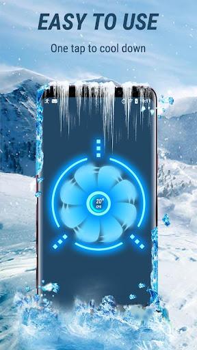 CPU Cooler - Cooling Master, Phone Cleaner Booster apktram screenshots 2