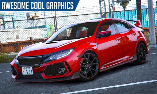 Drifting and Driving Simulator: Honda Civic Game 2 apktram screenshots 3