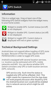 GPS Switch (Root) v1.2 Full MOD APK 3