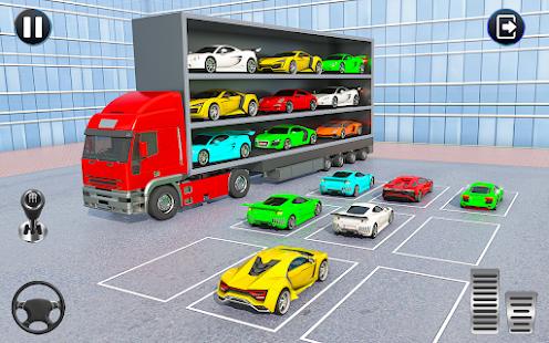 Crazy Car Transport Truck:New Offroad Driving Game 1.32 Screenshots 1