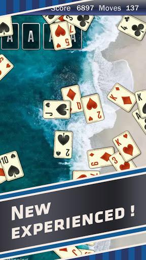 solitaire comfun- classic card game offline screenshot 2