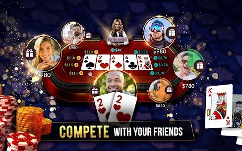 Zynga Poker – Free Texas Holdem Online Card Games Mod 22.08 Apk [Unlimited Chips] 4