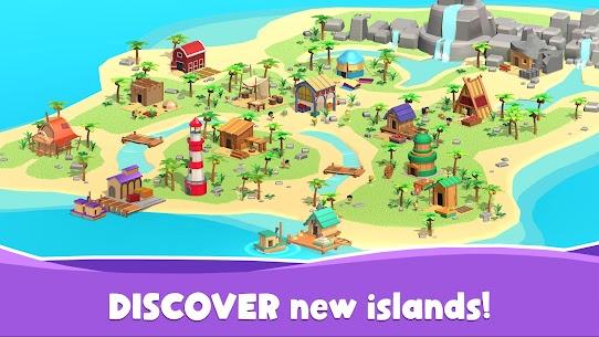 Idle Island Tycoon Mod Apk 1.7.1 (Unlimited Materials/Diamonds) 5