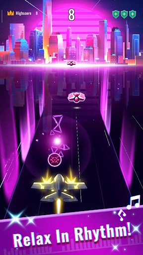 Rhythm Flight: EDM Music Game 0.8.4 Screenshots 2