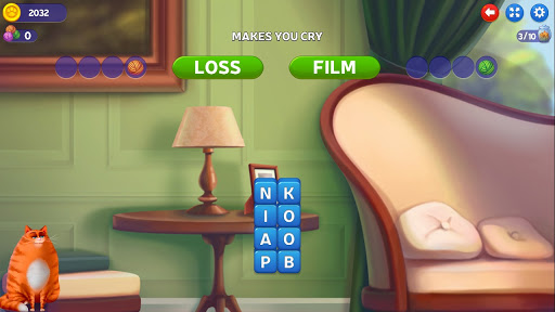 ud83dudd25Kitty Scramble: Word Stacks screenshots 6