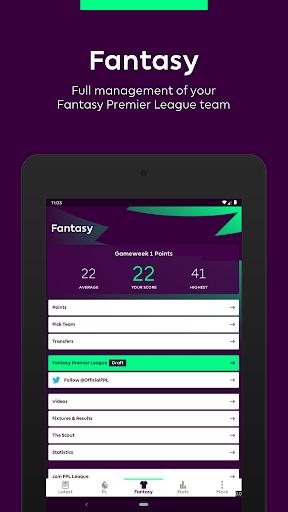 Premier League - Official App 2.4.2.2166 Screenshots 8