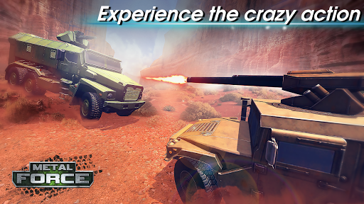 Metal Force: PvP Battle Cars and Tank Games Online  screenshots 9