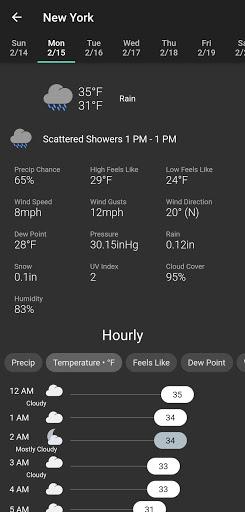 Shadow Weather: Hyperlocal forecast & radar  Screenshots 4