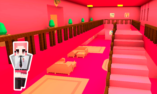 Pink Princess House Craft Game 2.7 screenshots 4