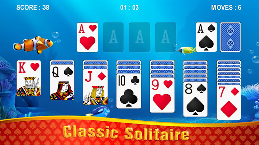 Solitaire - Ocean apkslow screenshots 1