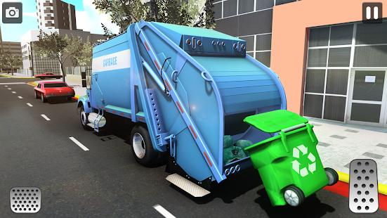 City Trash Truck Simulator: Dump Truck Games 1.37 Screenshots 3