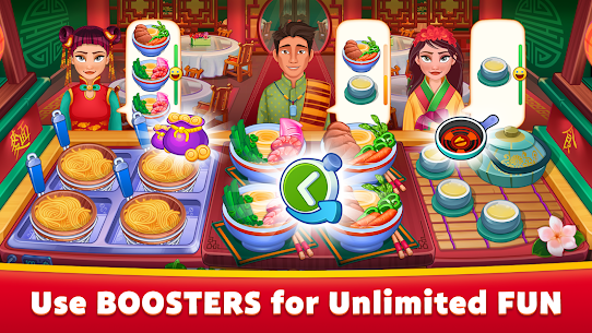 Asian Cooking Star MOD (Unlimited Gems/Coins) 3