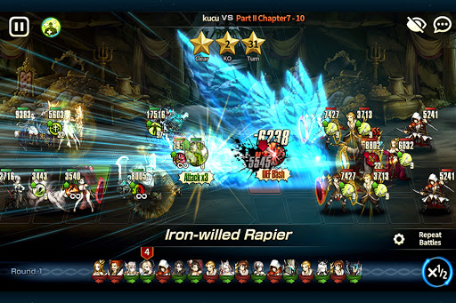 Brave Nine - Tactical RPG 1.64.7 screenshots 8