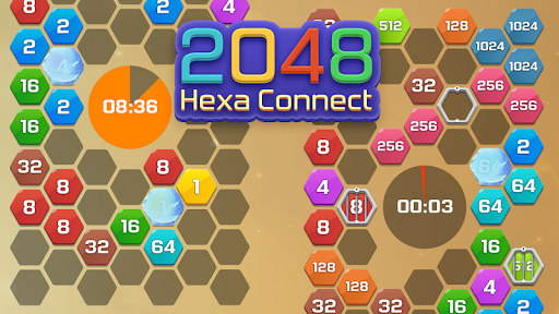 Merge  Block Puzzle - 2048 Hexa modavailable screenshots 6