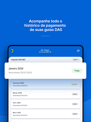 Mais MEI: Abrir MEI, guias DAS android2mod screenshots 11