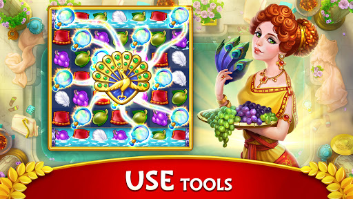 Jewels of Rome: Gems and Jewels Match-3 Puzzle  screenshots 16