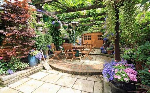 Télécharger Maison Jardins Puzzle APK MOD (Astuce)width=